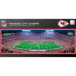 Kansas City Chiefs 1000-Piece NFL Stadium Panoramic Puzzle