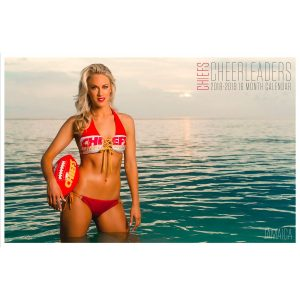 Kansas City Chiefs 2019 Cheerleader Calendar