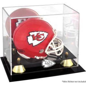 Kansas City Chiefs Fanatics Authentic Golden Classic Mini Helmet Display Case