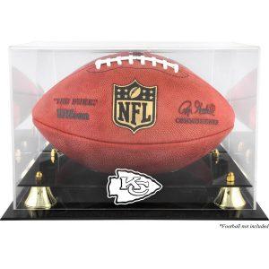 Kansas City Chiefs Fanatics Authentic Golden Classic Team Logo Football Display Case