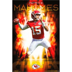 "Kansas City Chiefs Patrick Mahomes 22.4"" x 34"" NFL Association Players Poster"