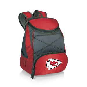 Kansas City Chiefs Red PTX Backpack Cooler