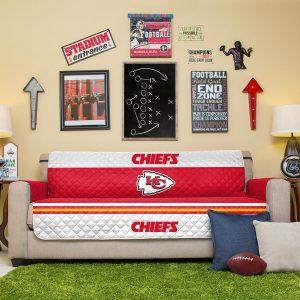 Kansas City Chiefs Red Sofa Protector