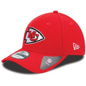 Men's Kansas City Chiefs New Era Red The League 9FORTY Adjustable Hat