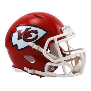 Riddell Kansas City Chiefs Revolution Speed Mini Football Helmet