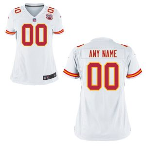 Women's Kansas City Chiefs Nike White Replica Game Jersey