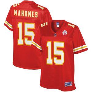 Women's Kansas City Chiefs Patrick Mahomes NFL Pro Line Red Player Jersey