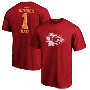 Kansas City Chiefs Big & Tall Greatest Dad Retro T-Shirt