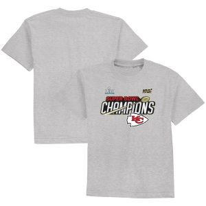 Kansas City Chiefs Preschool Super Bowl LIV Champions Trophy Collection Locker Room T-Shirt