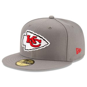 Kansas City Chiefs New Era Storm 59FIFTY Fitted Hat