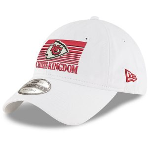 Kansas City Chiefs New Era Super Bowl LIV Champions Slogan 9TWENTY Adjustable Hat