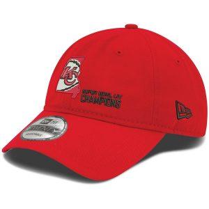 Kansas City Chiefs New Era Super Bowl LIV Champions State 9TWENTY Adjustable Hat