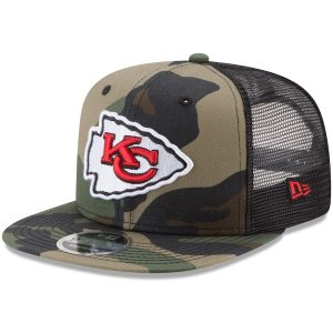 Kansas City Chiefs New Era Trucker 9FIFTY Snapback Adjustable Hat