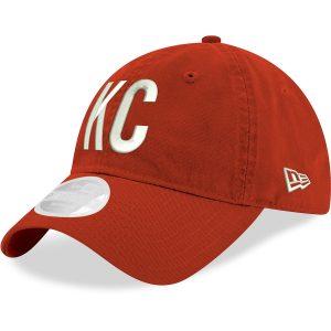 Kansas City Chiefs New Era Women's Hometown 9TWENTY Adjustable Hat