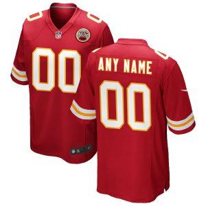 Kansas City Chiefs Nike Custom Game Jersey