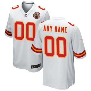 Kansas City Chiefs Nike Custom Game Jersey