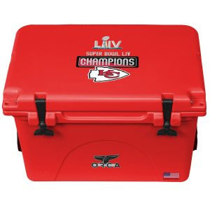Kansas City Chiefs ORCA Super Bowl LIV Champions 40-Quart Cooler