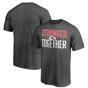 Kansas City Chiefs Stronger Together T-Shirt