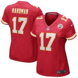 Mecole Hardman Kansas City Chiefs Nike Women's Game Jersey