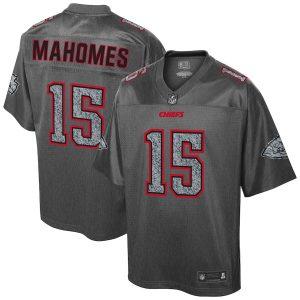 Patrick Mahomes Kansas City Chiefs NFL Pro Line Static Fashion Jersey
