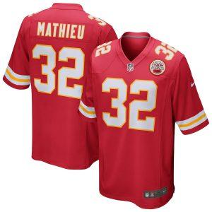 Tyrann Mathieu Kansas City Chiefs Nike Game Jersey