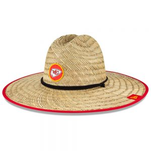 Kansas City Chiefs New Era 2020 NFL Summer Straw Hat
